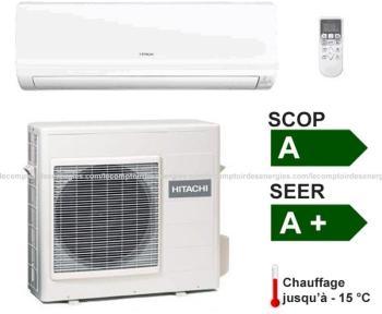 Climatiseur monosplit Hitachi