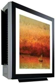 Evaporador Hi Wall Decorativo  LG 1.0 TR Frio/Calor 220x Agotar Exixtencia