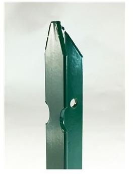 Ferro piquet t plastifi vert 30 30 bulloni - Piquet en fer ...