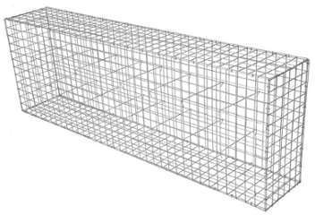 Gabion Décor Cube 120 x 60