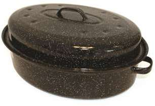Cocotte Roaster en acier émaillé