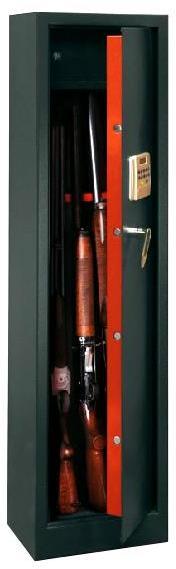 Armoire 5 fusils coffre interne