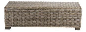 Bout de lit coffre en Kubu
