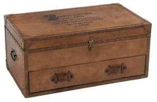Coffre vintage avec tiroir