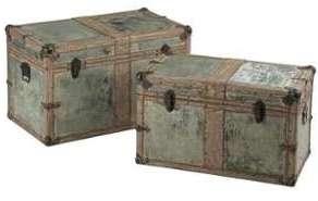 Set de 2 coffres rectangle