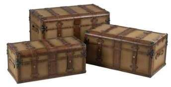 Set de 3 coffres rectangles