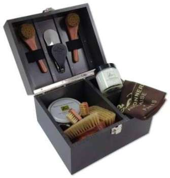 Coffret Cirage Groom Ebène