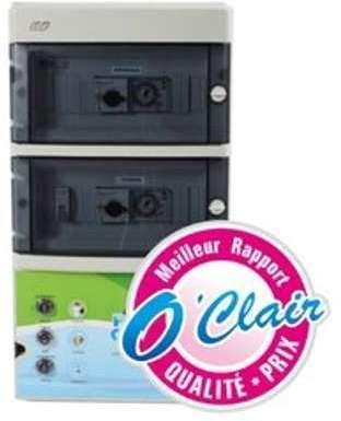 Coffret filtration 2 projecteurs