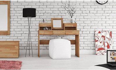Coiffeuse chambre adulte bois