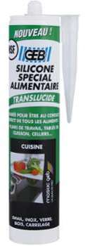 Silicone spécial alimentaire