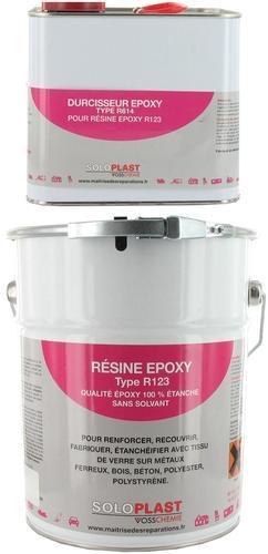 Résine epoxy type R123 Soloplast