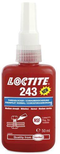 Frein filet Loctite 243 résistance