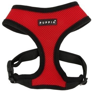 Harnais pour chien rouge Puppia