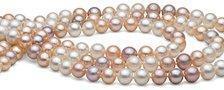 Collier triple rang de perles