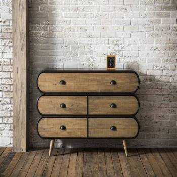 Buffet commode au style industriel
