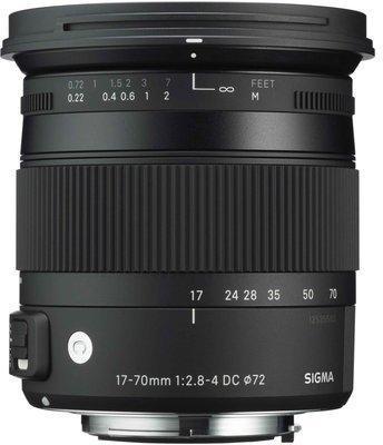 Sigma Contemporary 17-70mm