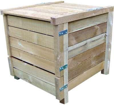 Composteur 350 litres en pin