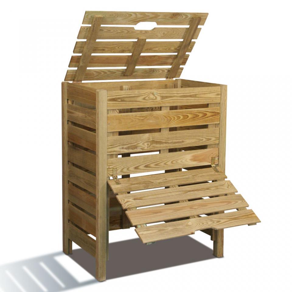 Composteur bois 400 L