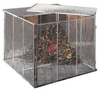 Couvercle pour composter 100X100