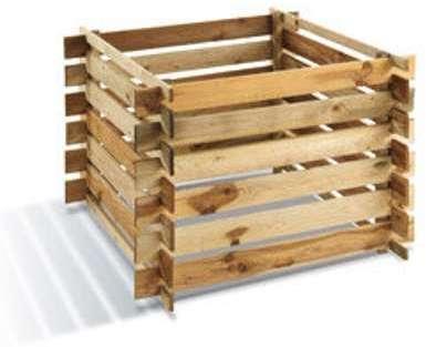 Composteur en bois 700L