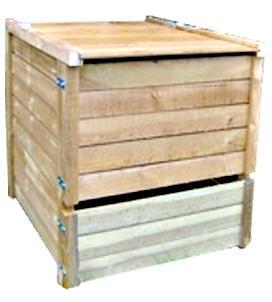 Composteur 650 litres en pin