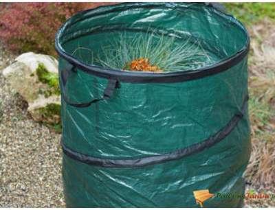 Sac à déchets de jardin pop-up