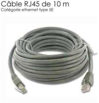 Cable Reseau cable RJ45 de