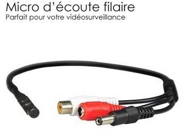 Micro pour camera analogique