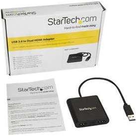 StarTech com USB to Dual HDMI