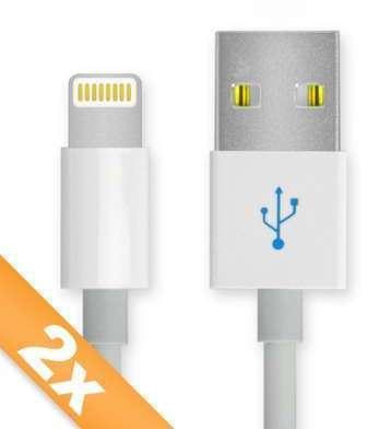 2x Câble USB Apple iPhone
