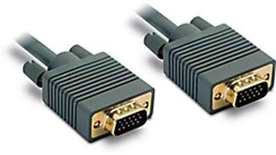 Câble VGA SVGA Metronic Mâle