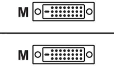 Câble DVI-D mâle vers DVI-D