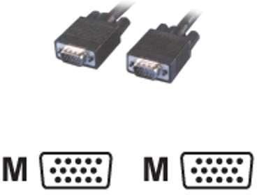 Câble surmoulé SVGA HD15 M