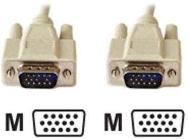 Cordon VGA standard HD15 M