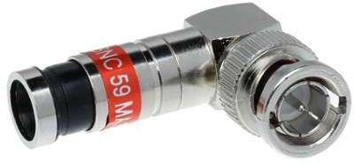 Fiche de connexion BNC à compression