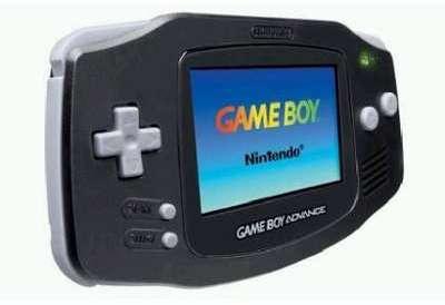 Game Boy Advance noire