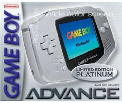 Game Boy Advance platine