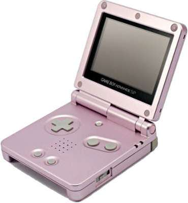 Game Boy Advance SP rose