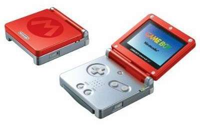 Game Boy Advance SP Rouge
