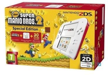 Nintendo 2DS Blanche et rouge