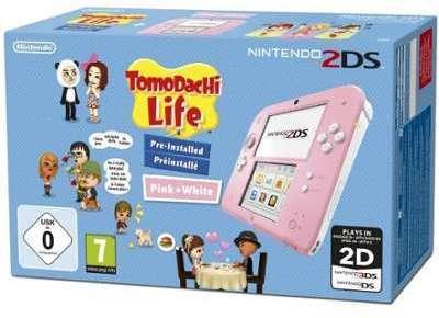 Nintendo 2DS Rose et blanche