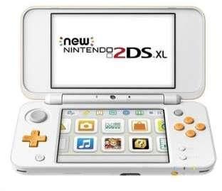 NNTENDO New 2DS XL Blanc et