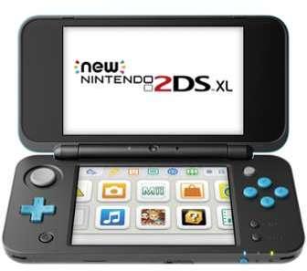 NNTENDO New 2DS XL Noire et