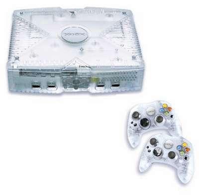 Microsoft Xbox Console crystal
