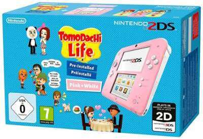 Console Nintendo 2DS Rose