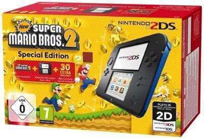 Console Nintendo 2DS Noir