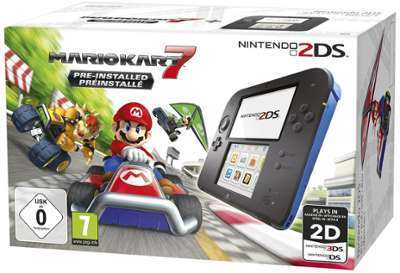 Console Nintendo 2DS Bleue