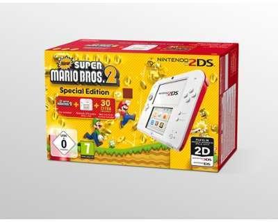 Console Nintendo 2DS Rouge