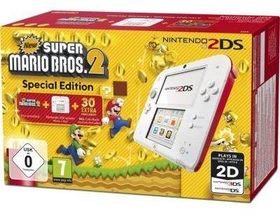 Console 2DS Nintendo Blanche