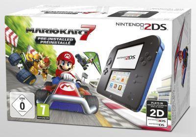 Console 2DS Nintendo Noire